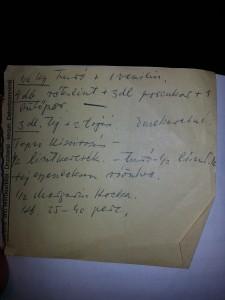 Az eredeti recept papától